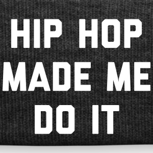 Hip Hop Do It Music Quote Kasketter & huer - Winterhue