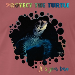 protect the turtle T-Shirts - Männer Premium T-Shirt