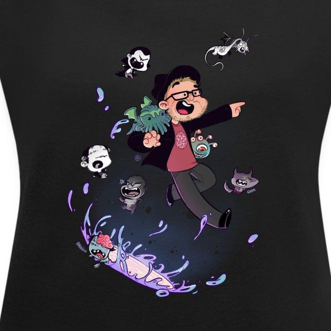 NEW t-shirt femme manches retroussées