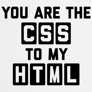 CSS To My HTML Funny Quote Tabliers - Tablier de cuisine