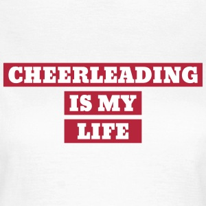 Cheerleader Cheerleading Dance Sport Twirling T-Shirts - Women's T-Shirt