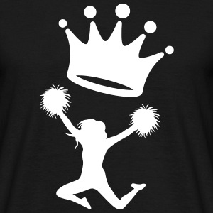 Cheerleader Cheerleading Dance Sport Twirling T-Shirts - Men's T-Shirt