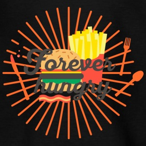 Forever hungry, hungry, greedy, out to eat Shirts - Kids' T-Shirt
