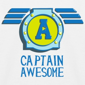 Captain awesome Captain geil self-consciously arrogant Shirts - Kids' Baseball T-Shirt