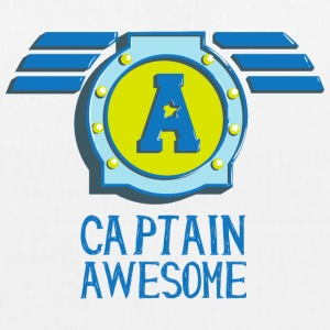 Captain awesome Captain geil self-consciously arrogant Bags & Backpacks - EarthPositive Tote Bag