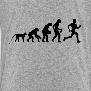 Evolution Run T-Shirts - Teenager Premium T-Shirt