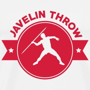 Javelin Throw Thrower Lancer de Javelot Speerwurf T-Shirts - Men's Premium T-Shirt