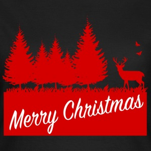 Forest merry christmas SP T-shirts - Vrouwen T-shirt