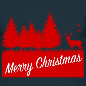 Forest merry christmas SP T-shirts - Herre-T-shirt