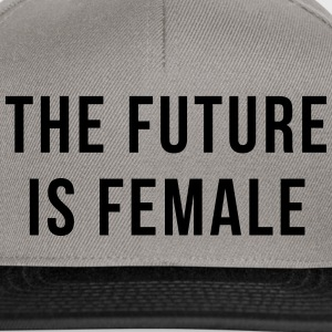 Future Is Female Quote Caps & Hats - Snapback Cap