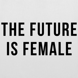 Future Is Female Quote Bags & Backpacks - Tote Bag