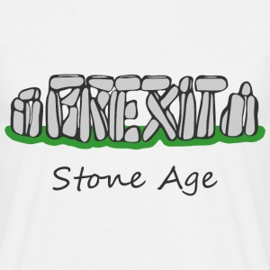 Brexit Stone Age - Men's T-Shirt