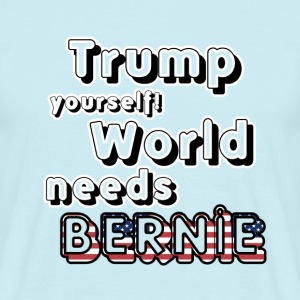 World needs Bernie T-Shirts - Men's T-Shirt