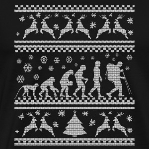 CLIMB HIKING - CHRISTMAS EDITION T-Shirts - Men's Premium T-Shirt