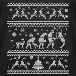 TENNIS EVOLUTION CHRISTMAS EDITION Topy - Tank top damski Premium