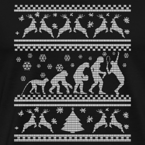 TENNIS EVOLUTION CHRISTMAS EDITION T-shirts - Herre premium T-shirt