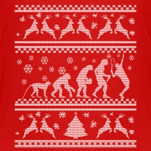 TENNIS EVOLUTION CHRISTMAS EDITION Shirts - Kinderen Premium T-shirt