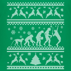 TENNIS EVOLUTION CHRISTMAS EDITION T-shirts - Teenager premium T-shirt