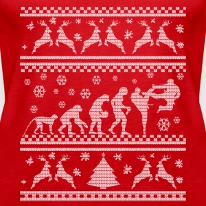 KARATE EVOLUTION WEIHNACHTSEDITION Topy - Tank top damski Premium