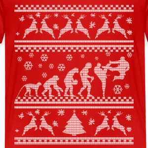 KARATE EVOLUTION WEIHNACHTSEDITION Skjorter - Premium T-skjorte for barn