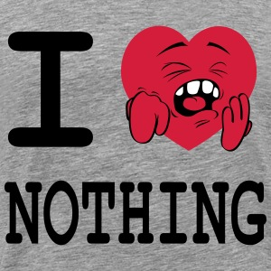 i_love_nothing Tee shirts - T-shirt Premium Homme