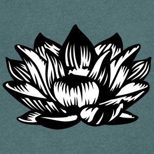 Lotus flower T-Shirts - Men's V-Neck T-Shirt