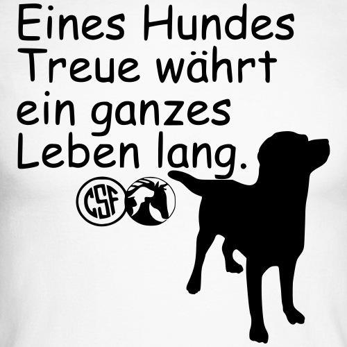 Eines Hundes Treue währt ...