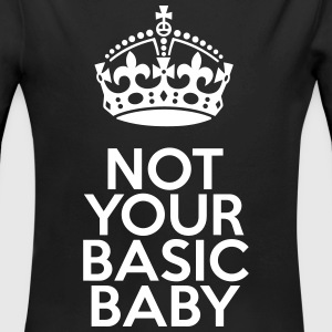Not your basic baby Babybody - Økologisk langermet baby-body