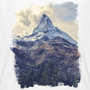 Berge & Diamonds T-Shirts - Männer Bio-T-Shirt