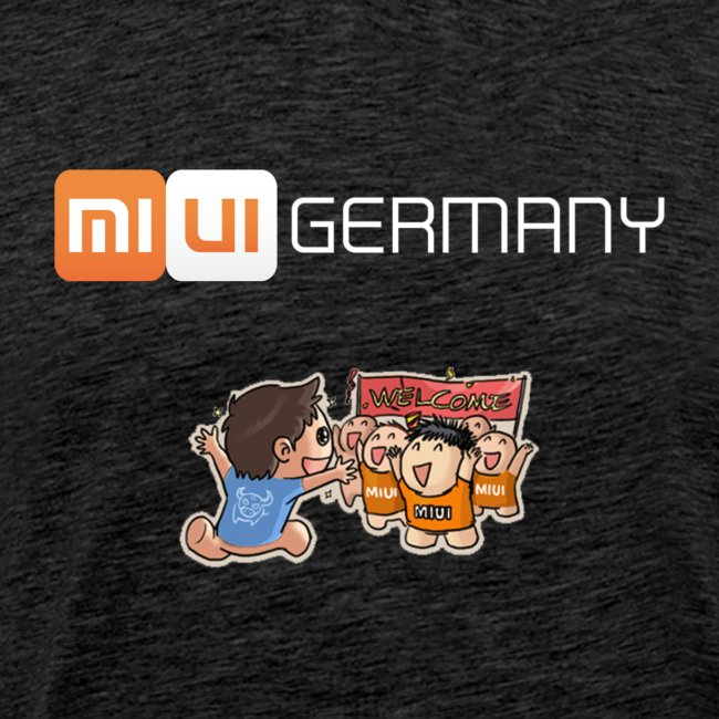 MIUI Germany - Welcome - T-Shirt