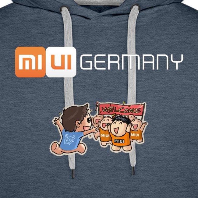MIUI Germany - Welcome - Hoodie