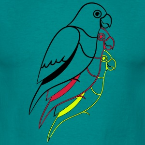 Parrot design T-Shirts - Men's T-Shirt