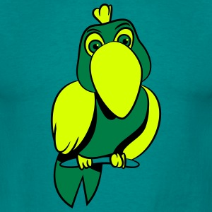 Parrot witty comic T-Shirts - Men's T-Shirt