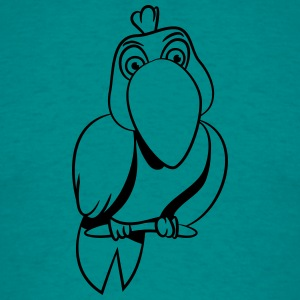 Parrot grappige comic T-shirts - Mannen T-shirt
