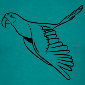Parrot bird flying T-Shirts - Men's T-Shirt