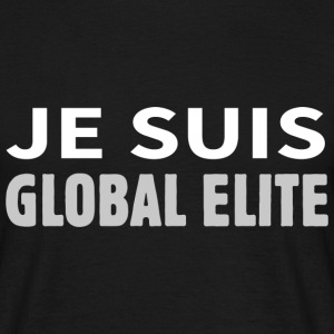 Je suis Global Elite Tee shirts - T-shirt Homme