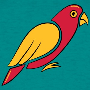 Parrot bird design T-Shirts - Men's T-Shirt