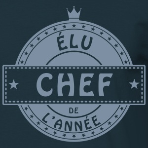 elu chef patron responsable cuisinier Tee shirts - T-shirt Homme