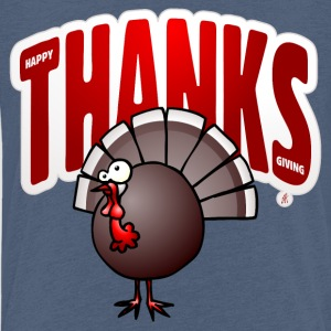 Thanksgiving-Truthahn T-Shirts - Kinder Premium T-Shirt