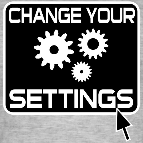 Settings Gamer Gaming Button