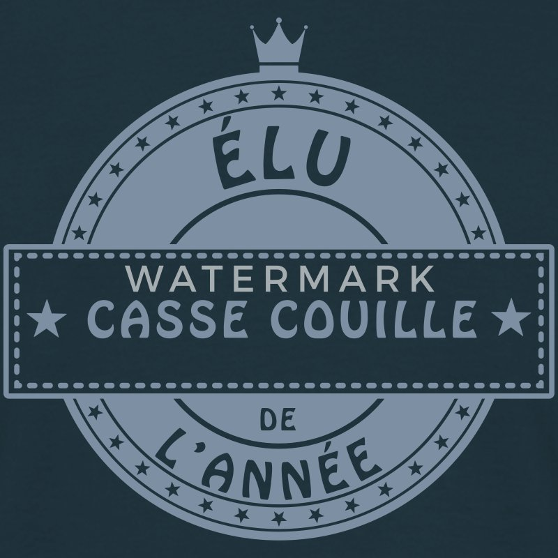 elu casse couille Tee shirts - T-shirt Homme