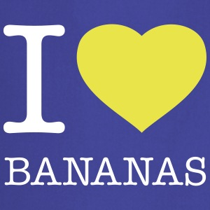I LOVE BANANAS - Tablier de cuisine