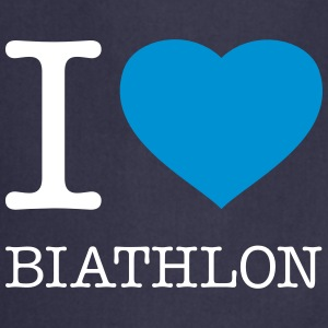 I LOVE BIATHLON - Cooking Apron