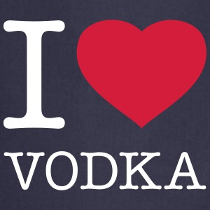 I LOVE VODKA - Keukenschort