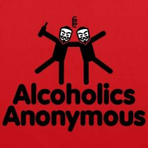 Alcoholics Anonymous 2 Sacs et sacs à dos - Tote Bag