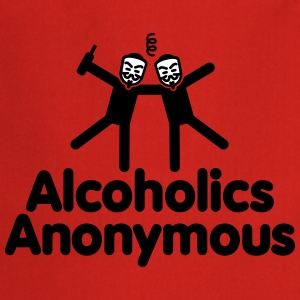 Alcoholics Anonymous 2 Tabliers - Tablier de cuisine