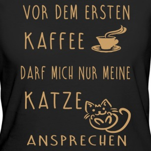 Coffee cat T-Shirts - Women's Organic T-shirt