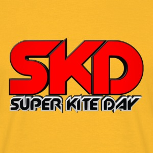 Super Kite Day Offical T-shirt (Yellow) - Men's T-Shirt