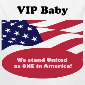 We stand United as ONE in America - Longlseeve Baby Bodysuit