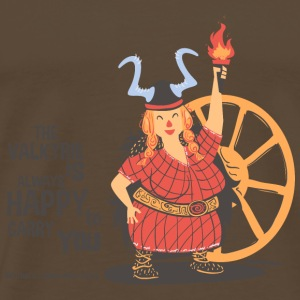 Noble brown Walküre T-Shirts - Men's Premium T-Shirt
